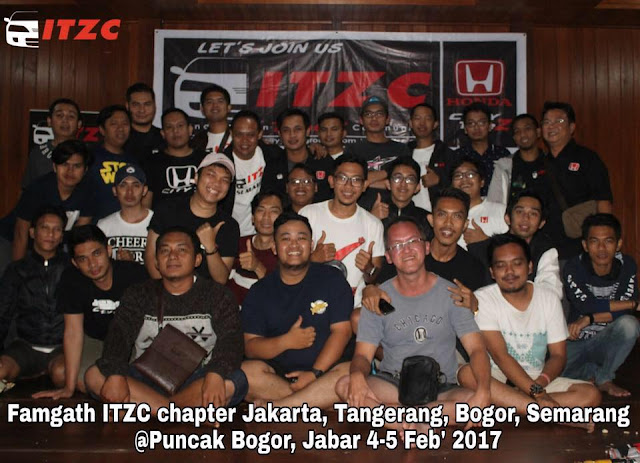 Para member ITZC yang ceria