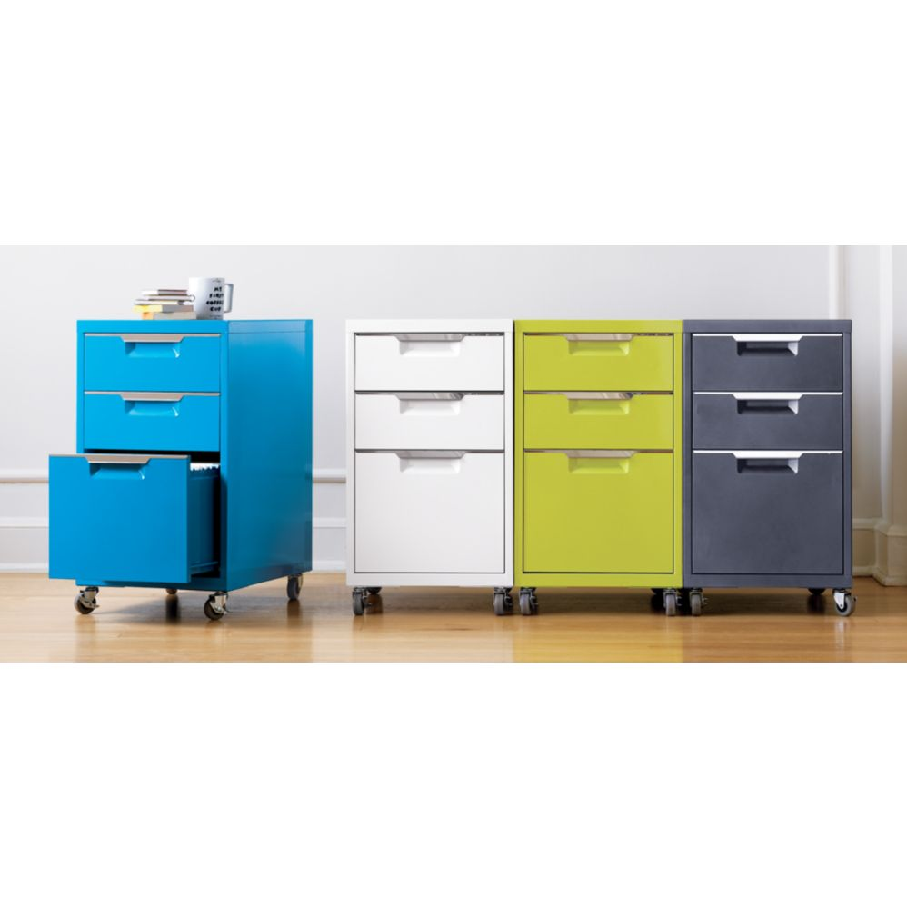 Colorful File Cabinets