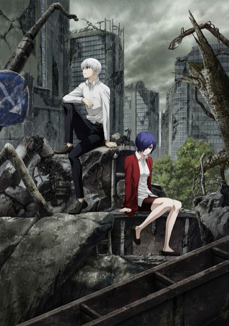 عرض قصير للموسم الثاني من Tokyo Ghoul:re والقادم في أكتوبر  انمي 4يو