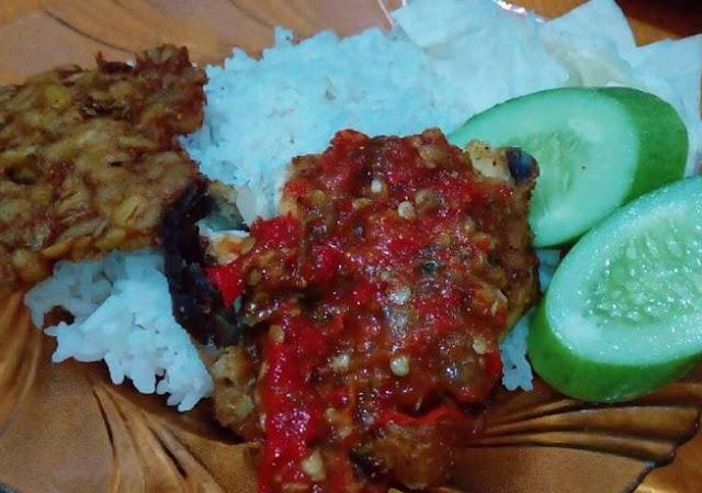 resep nasi ayam penyet sambal terasi