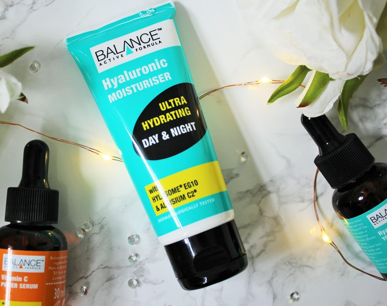 Balance Active Formula Skincare Review - 5 - Hyaluronic Moisturiser