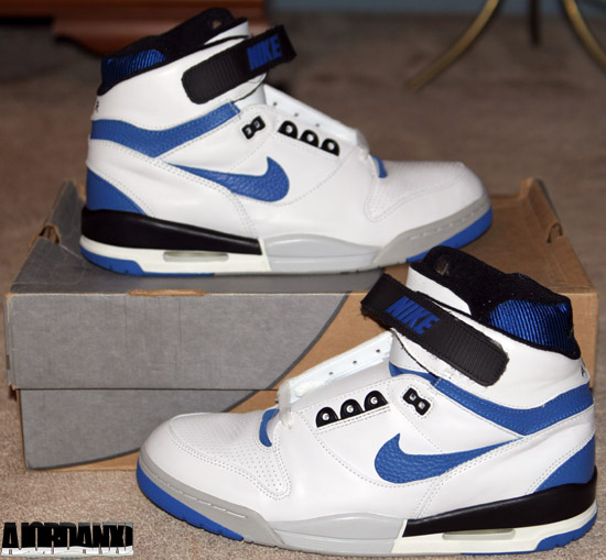 buy online 6fb13 7bfb1 ajordanxi Your  1 Source For Sneaker Release Dates  Nike Air Revolution  White Royal Blue-Black-Zen Grey (2003)