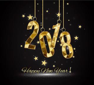 Gambar Kata Wallpaper Ucapan Selamat Tahun Baru 2018