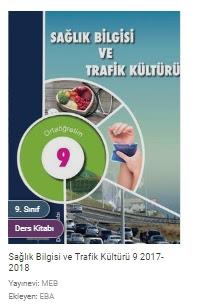 9. Sınıf Sağlık Bilgisi ve Trafik Kültürü Meb Yayınları Ders Kitabı Cevapları