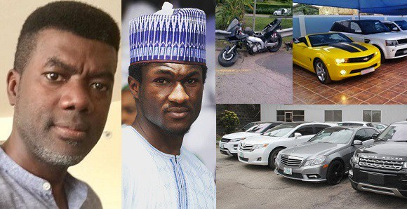 EFCC Should Seize Yussuf Buhari's Power Bike And Not Just Yahoo Boys Cars – Reno Omokri