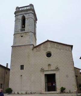 Iglesia de Santa Eulàlia en Cruïlles.