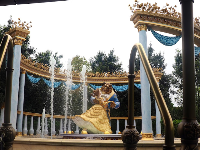 Beauty and the Beast in the Voyage to the Crystal Grotto, Shanghai Disneyland, China