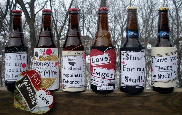 Bouteilles de bière personnalisées