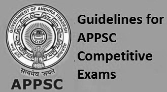 Guidelines for APPSC Competitive Exams