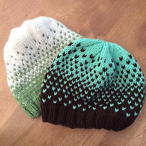 Quick Ombré Hat - Free Pattern