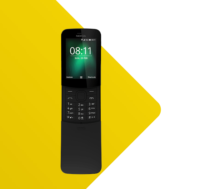 World Best Classic Phone New Nokia 8110 4G Feature and Full Specification in Detail