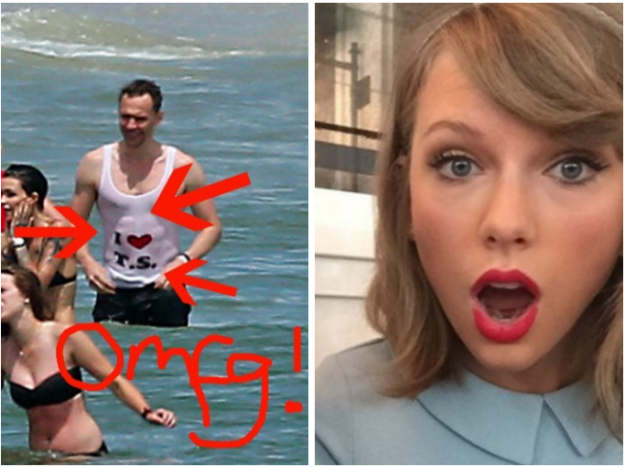 Noviazgo de Taylor Swift y Tom Hiddleston podría ser sólo marketing para un nuevo video.