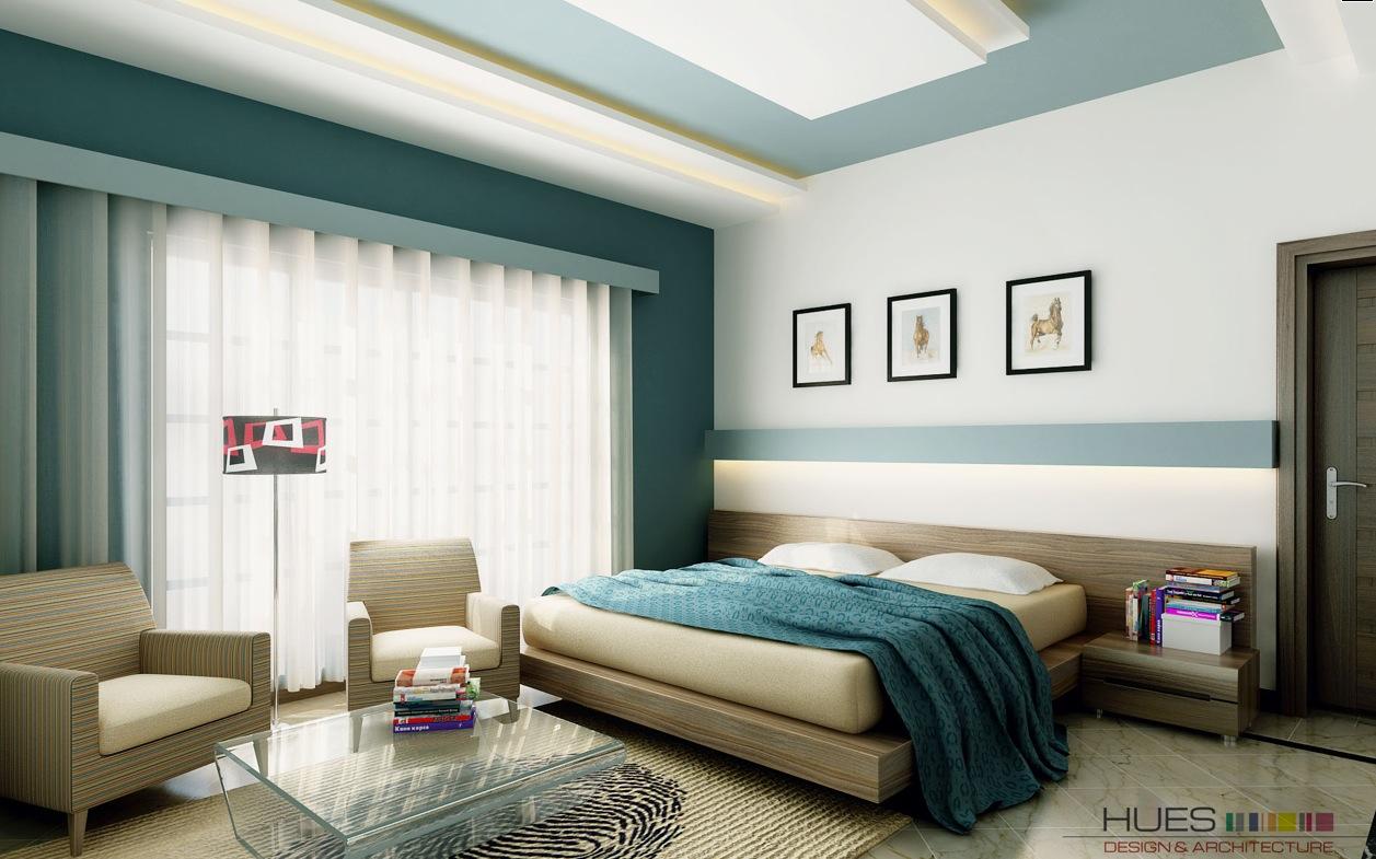 Desain Interior Kamar Tidur Modern Cantik