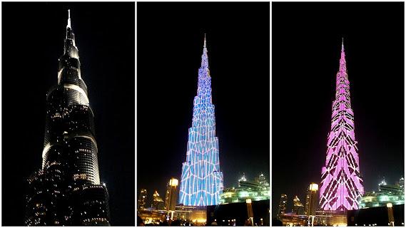 qué ver por la noche en Dubai