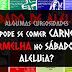 PODE COMER CARNE VERMELHA NO SÁBADO DE ALELUIA?