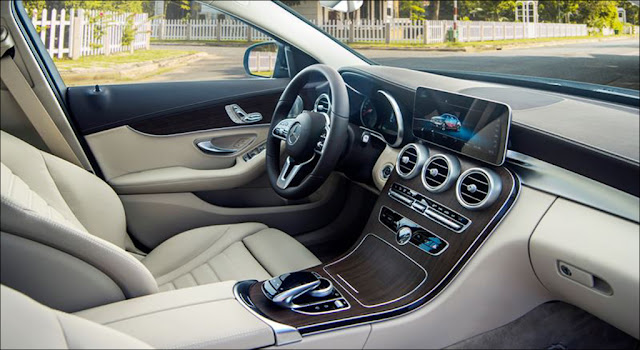 Thiết kế nội thất Mercedes C200 Exclusive 2019