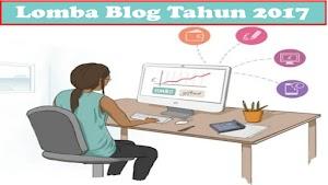 Lomba Blog dan Kontes SEO Agustus 2017