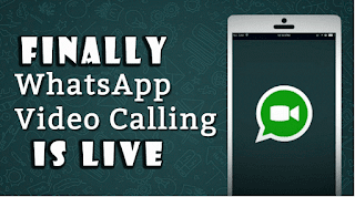 Whatsapp video calling feature is now live