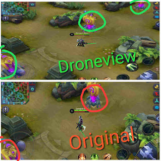 Mode Split Screen (Droneview/Dronemode)