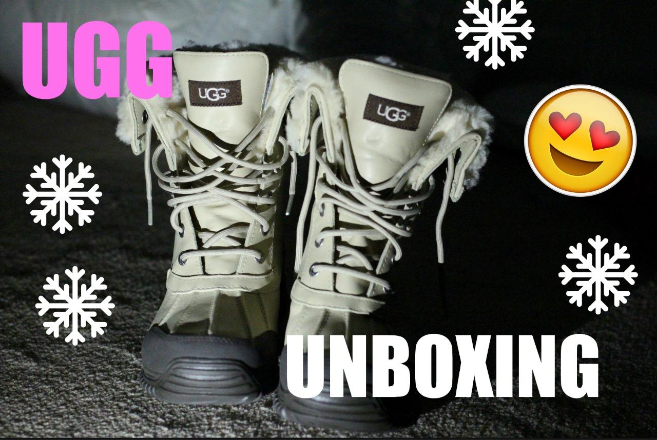 93a256387fb lifestyle: UGG AUSTRALIA ADIRONDACK II SAND UNBOXING FROM UGG.COM