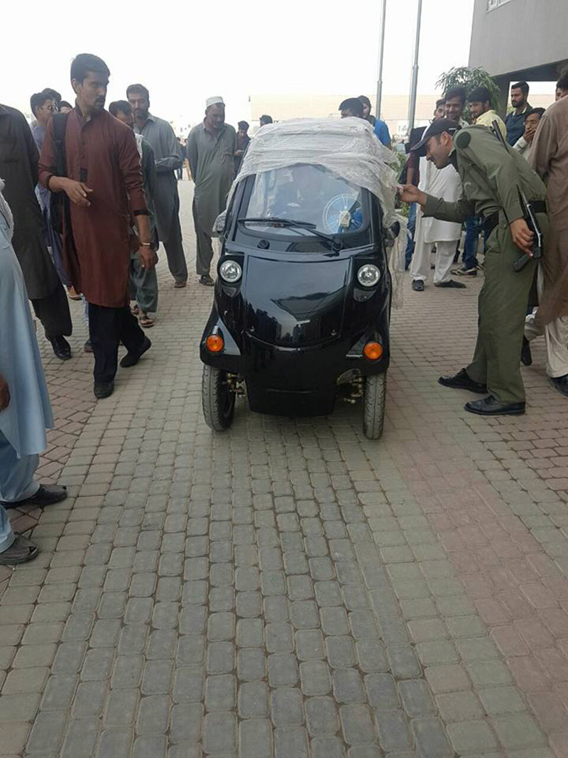 Chinese Nk Smart Dynamic Electric Rechargeable Car Arrives In Pakistan