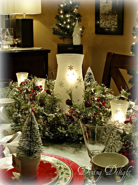 Dining Delight A Merry Little Christmas Tablescape