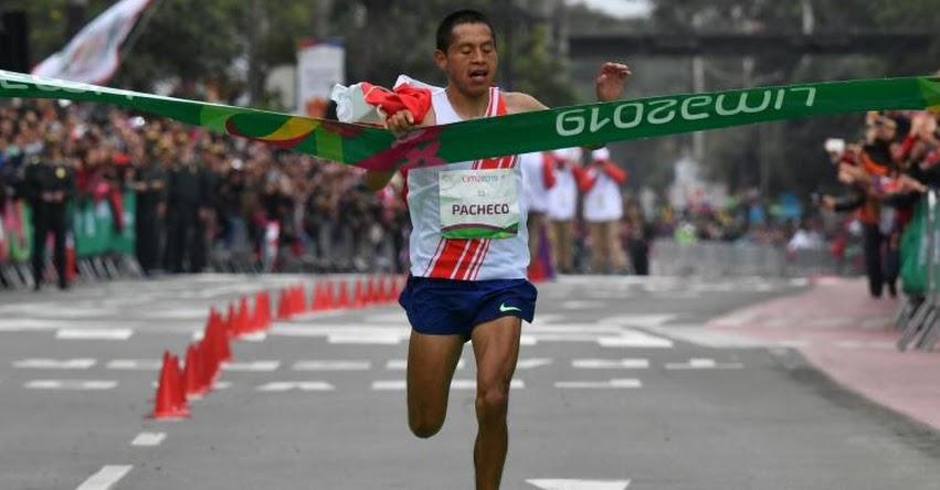 CHRISTIAN PACHECO: Atleta logró medalla de oro en maratón masculina de los Panamericanos - Lima 2019
