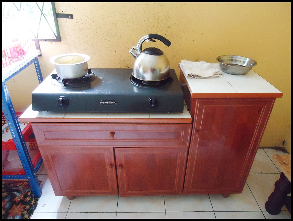 Ibu Dhia Dayyin Diysa Dapur Masak Sinki Tandas