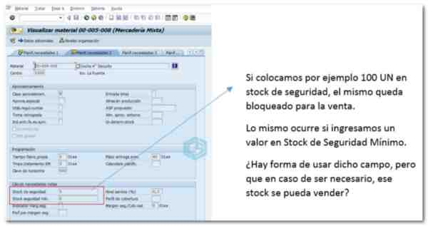 ¿Cómo vender el stock de Seguridad en SAP?