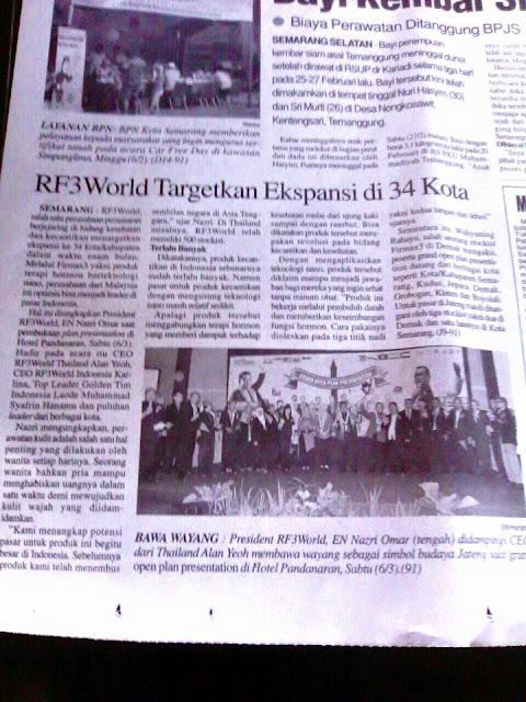 Kejayaan RF3 World Firmax3 Malaysia Terbaik