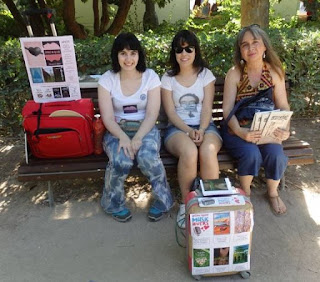 Déborah F. Muñoz, Inés Díaz Arriero y Eva Ruiz Gómez.