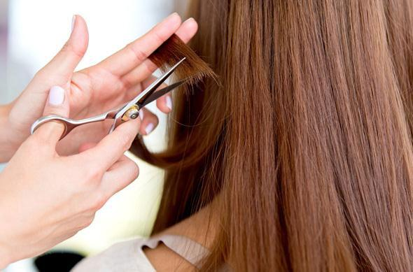 How to remove hair split ends with  Home Remedies