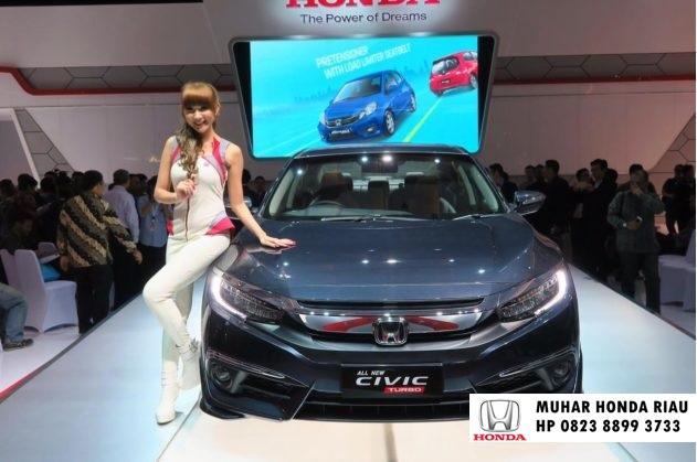 Info Harga All New Civic Turbo 2017 Pekanbaru Riau