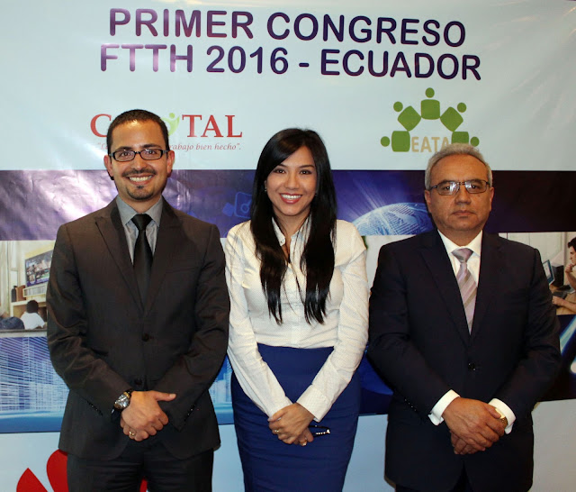 Netlife participó en el Primer Congreso FTTH 2016 - Ecuador
