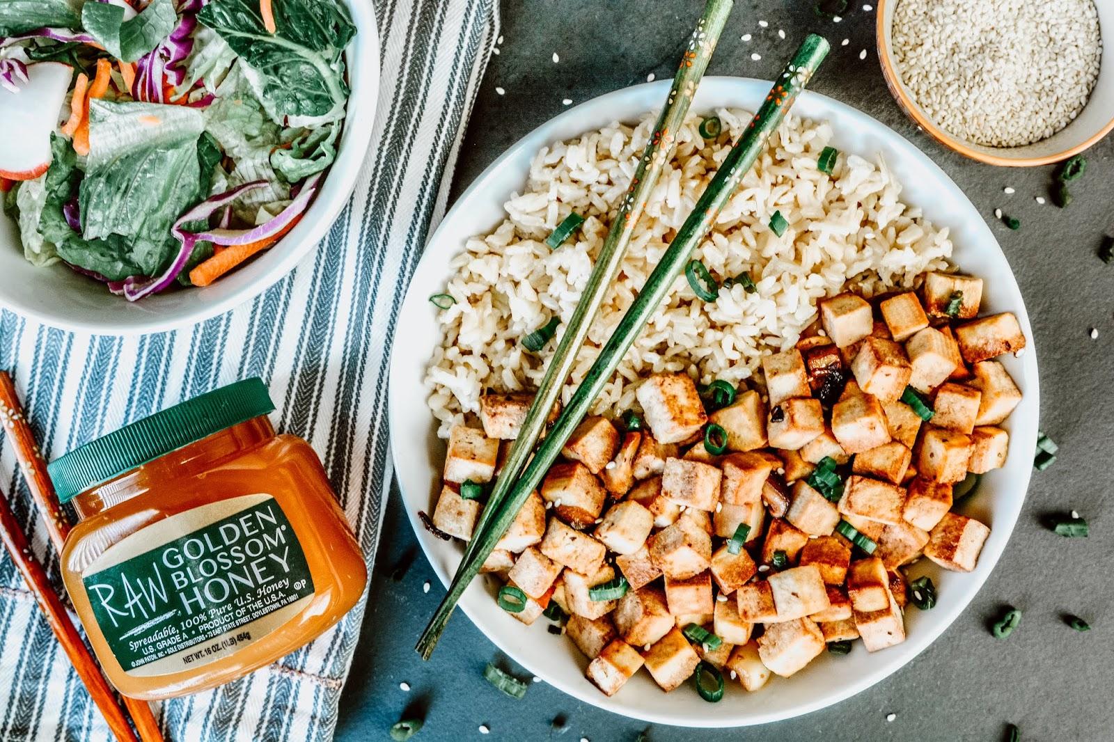 Indonesian Style Tofu