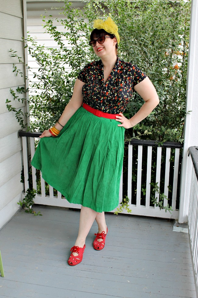 plus size vintage retro fashion from Va-Voom Vintage