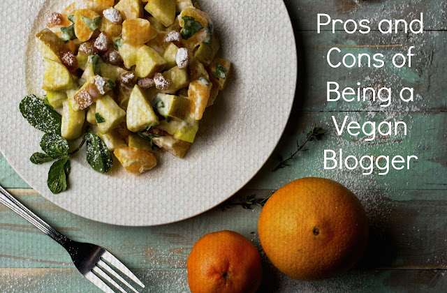 vegan blog pros and cons