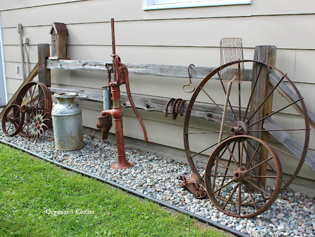 Awesome Outdoor Junk Gardens www.organizedclutter.net