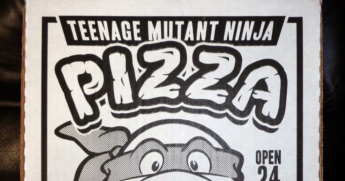 Collecting toyz flophouse tmnt pizza box