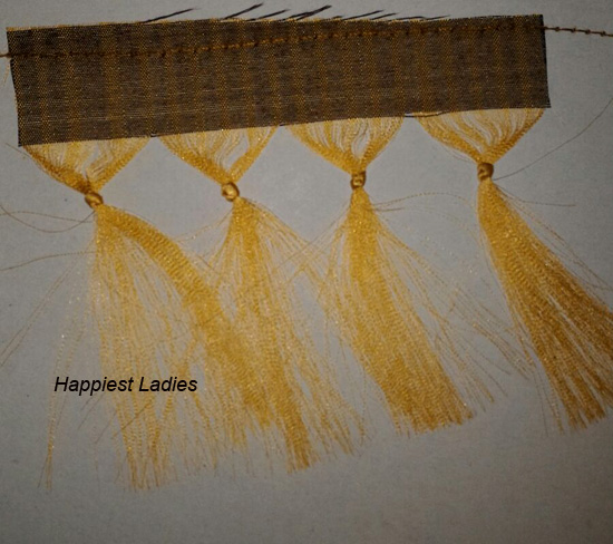 Saree Tassels Hand Work Diy Happiest Ladies