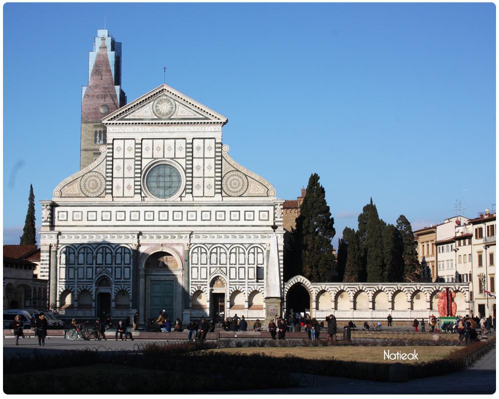 Basilique Santa Maria Novella de Florence Italie