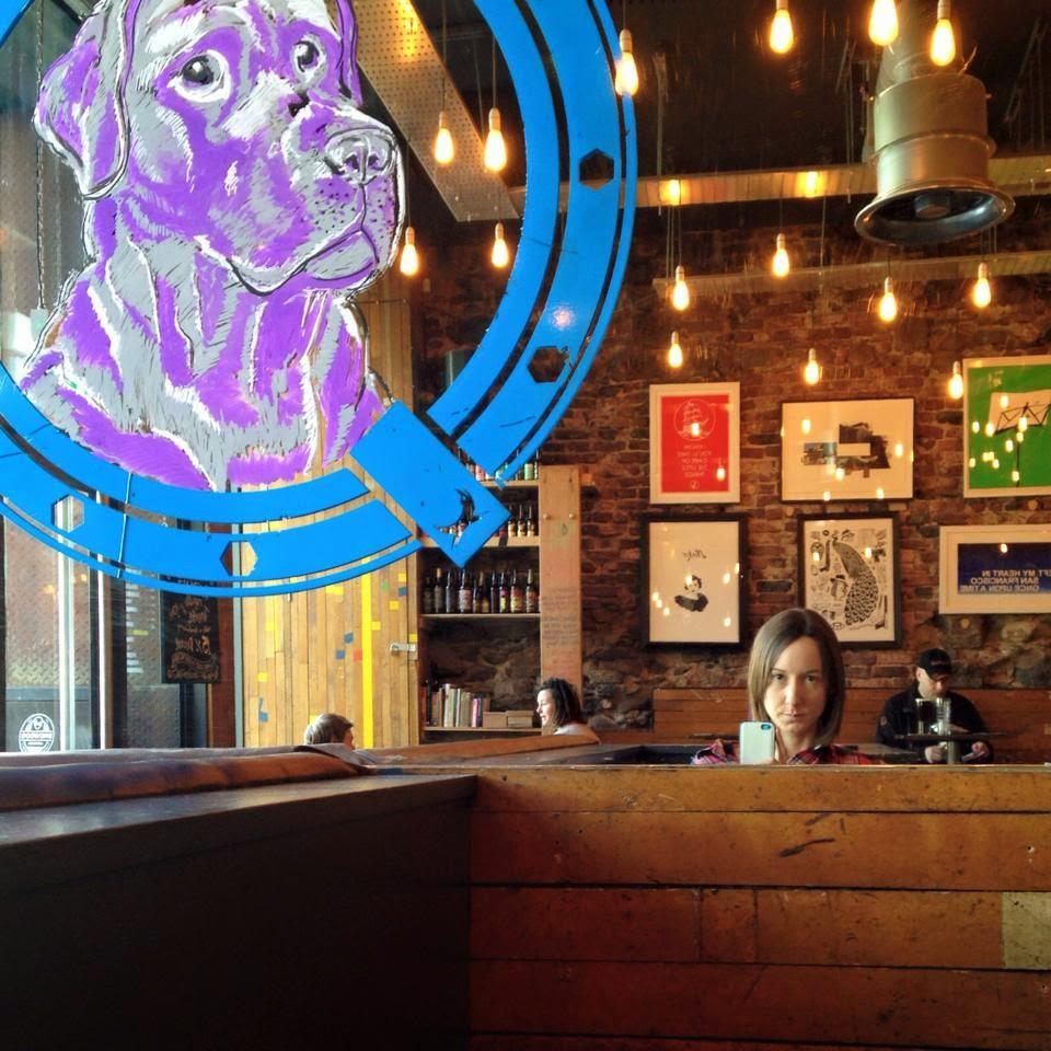 Selfies at Brewdog aberdeen