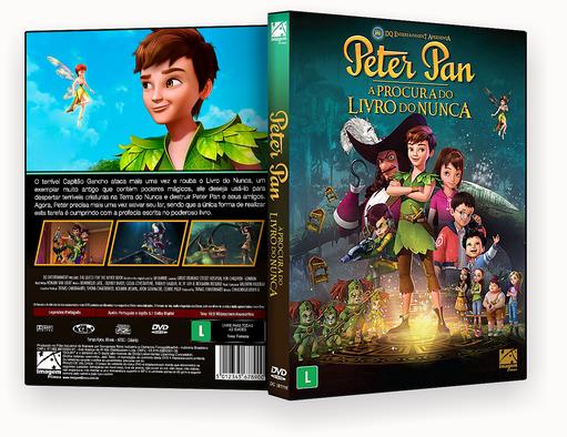 CAPA DVD – Peter Pan À Procura Do Livro Do Nunca DVD-R