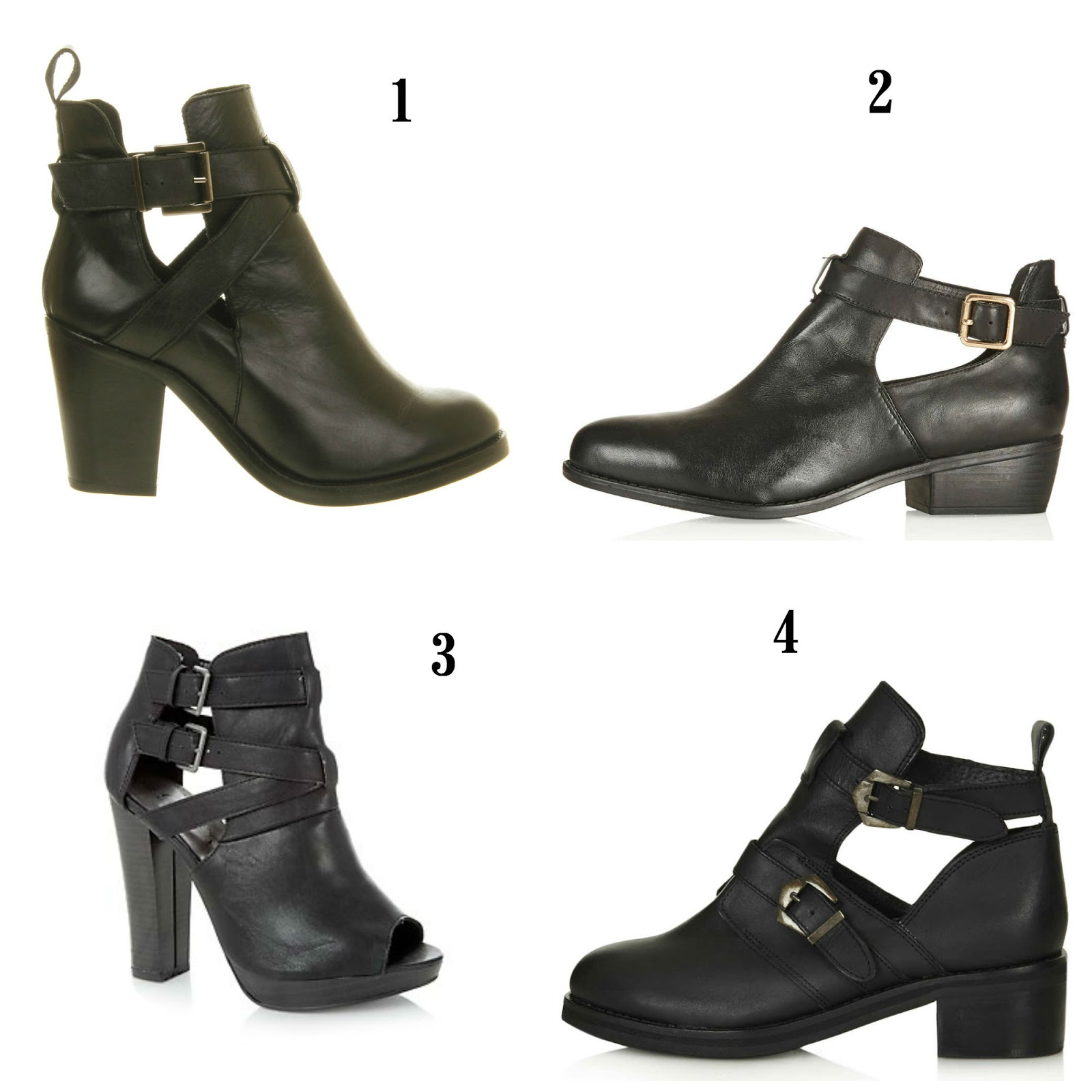 Cut Out Ankle Boots Style And Beauty For Less