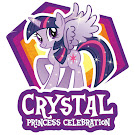 MLP Crystal Princess Celebration G4 Brushables Ponies