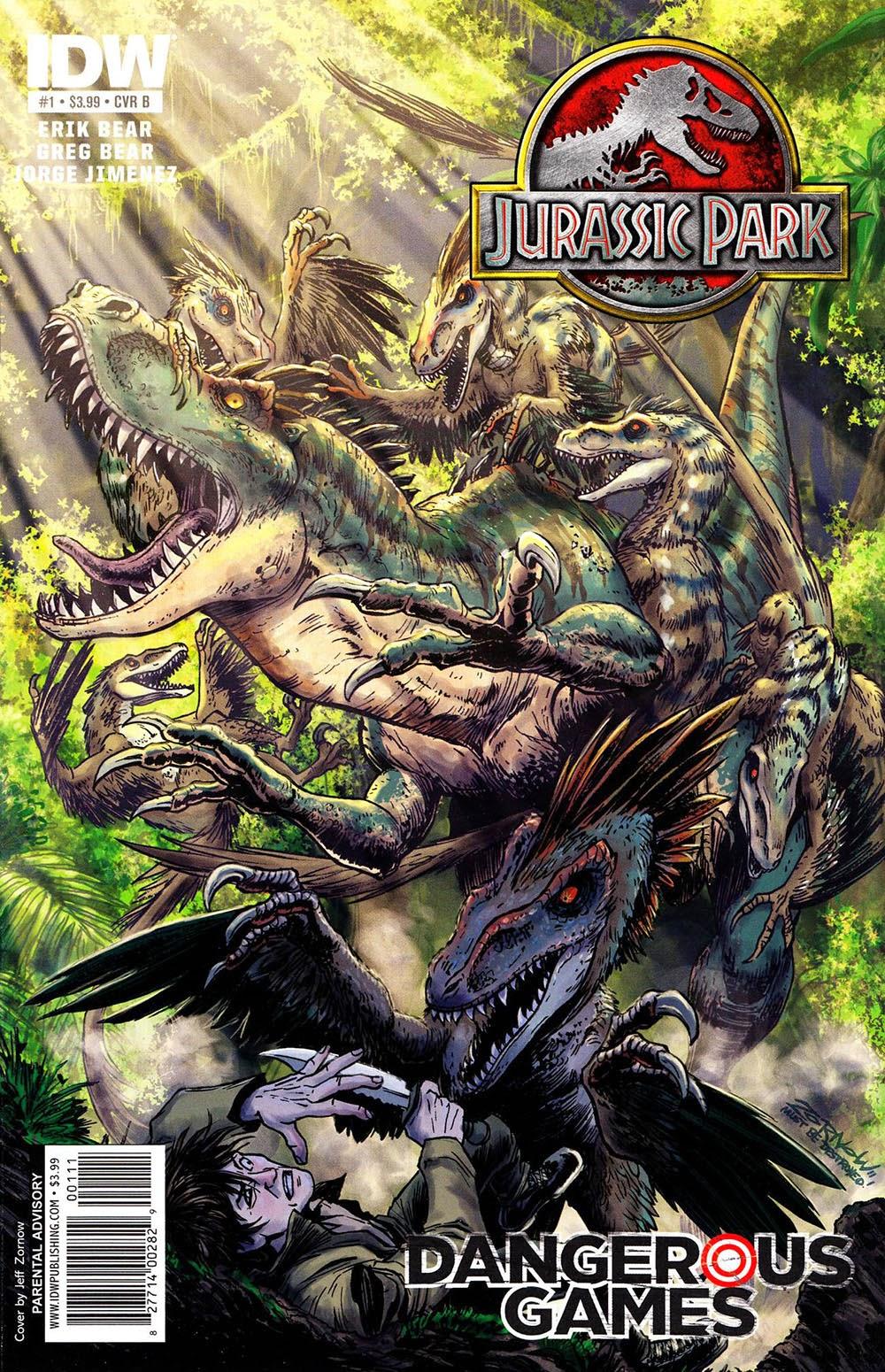 Jurassic Park 010 – Dangerous Games 1   Reading Comics