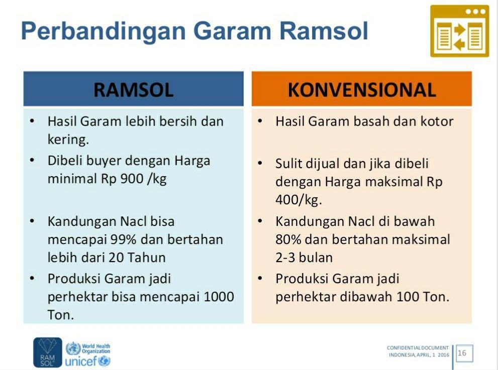 Hot..!!! Investasi Kavling Garam Ramsol Sebagai Solusi Impor Garam