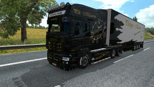 Philippe Maurin pack for Scania RJL