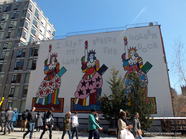 Ruta por Greenwich, Chelsea y High Line en Nueva York