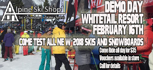 Demo Days this Thursday at Whitetail Resort